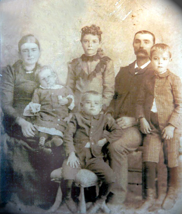 Freeze Family - ca. 1894