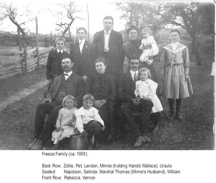Freeze Family - ca 1909